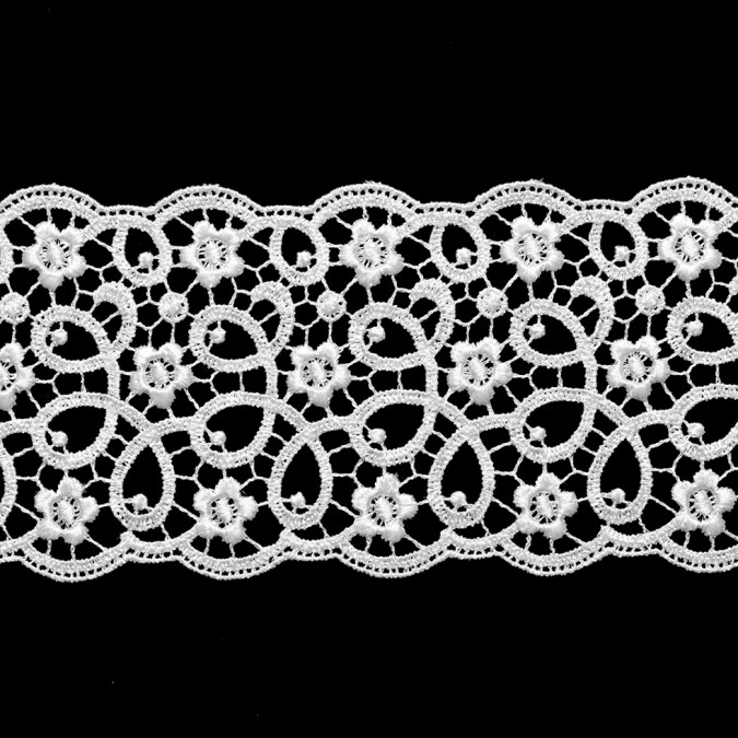 2 5 white floral venise lace trimming 308504 11