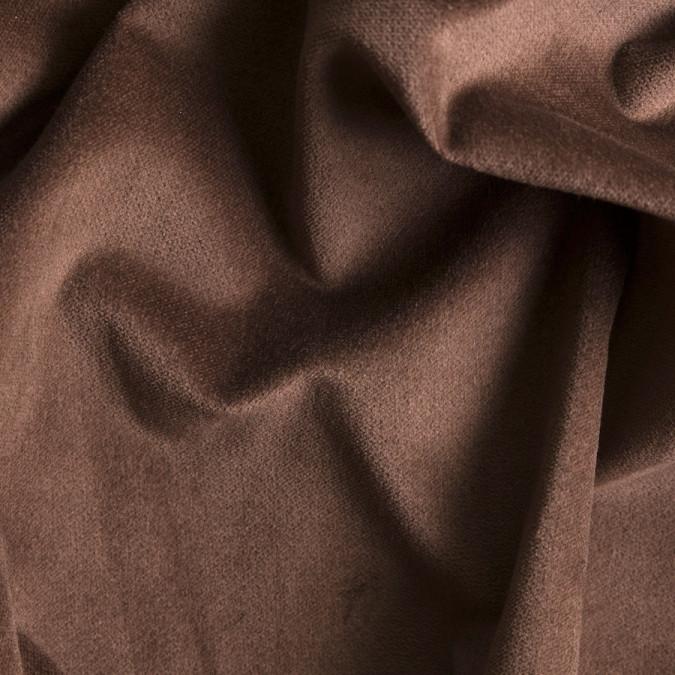 acorn brown stretch cotton velveteen 309357 11