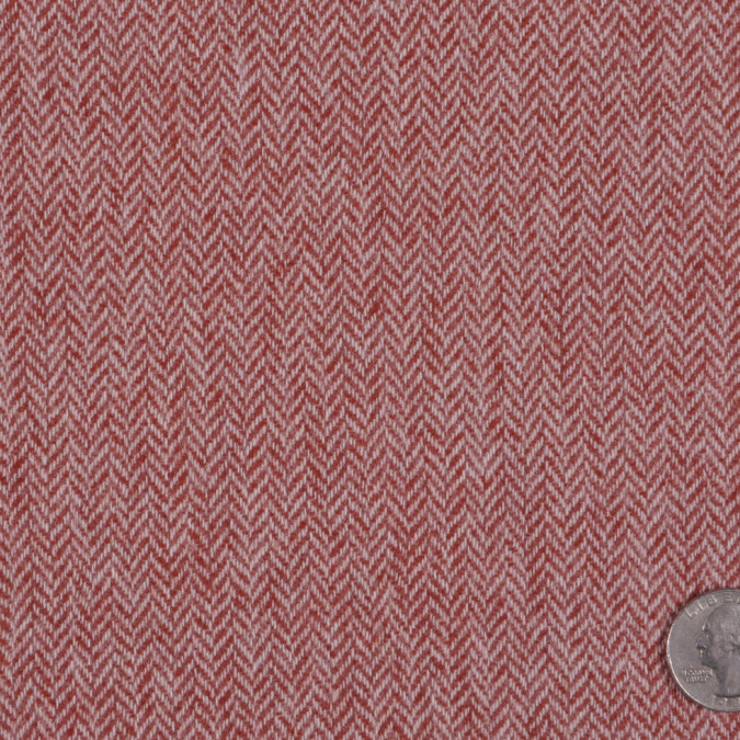 antique salmon off white herringbone suiting fw11831 11