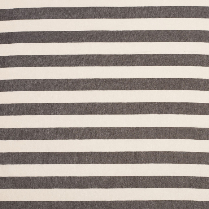 antique white black striped silk chiffon 306558 11