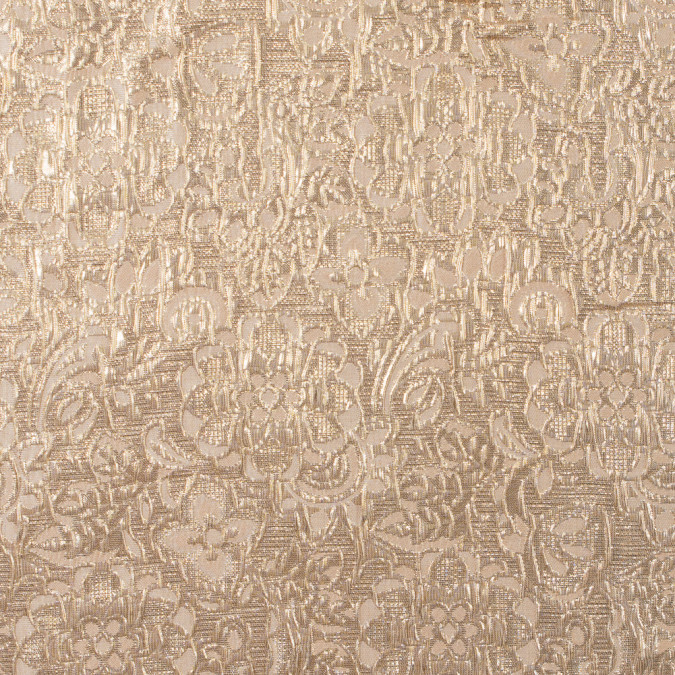 appleblosson and metallic gold floral brocade 315796 11