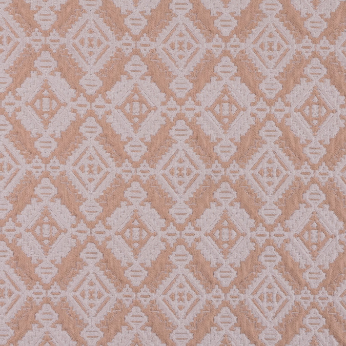 apricot cream geometric brocade 311628 11