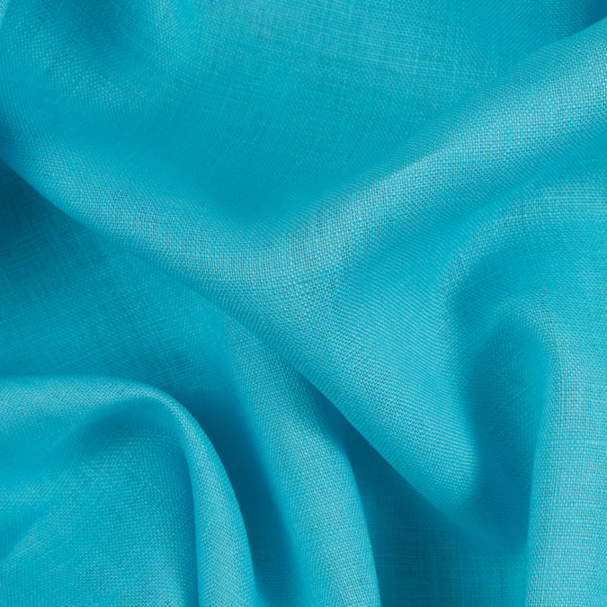 aqua medium weight linen 310677 11