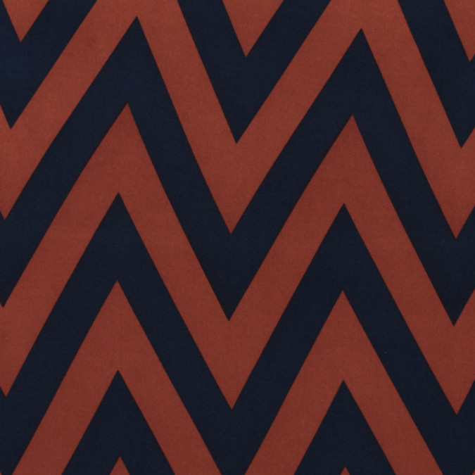 arabian spice and dress blues zig zag polyester print 313475 11