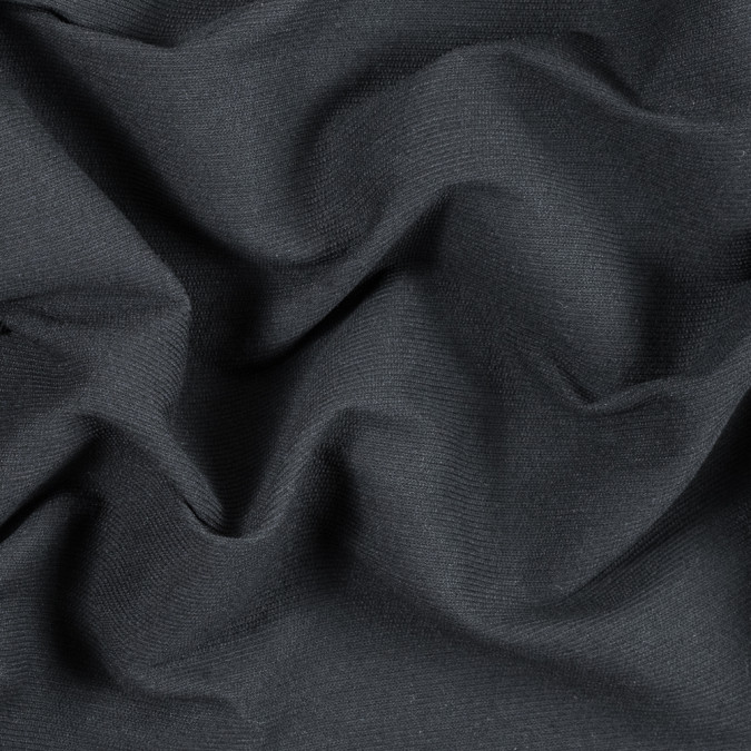 armani black ribbed wool woven 314420 11