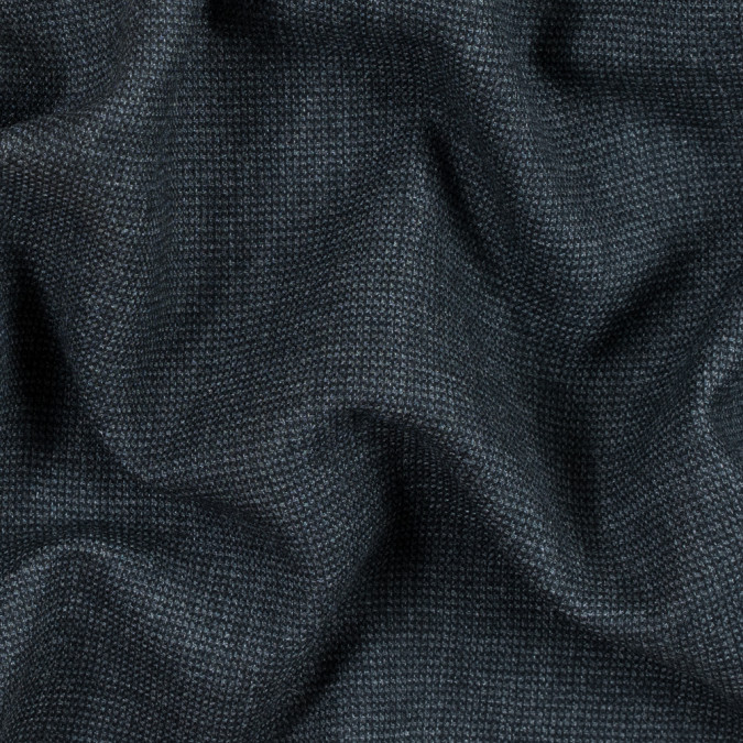 armani charcoal gray and black double faced wool coating 314303 11
