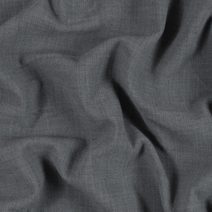 armani charcoal gray stretch wool double cloth 314450 11