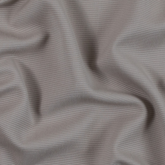 armani silver gray ribbed wool ottoman 314238 11