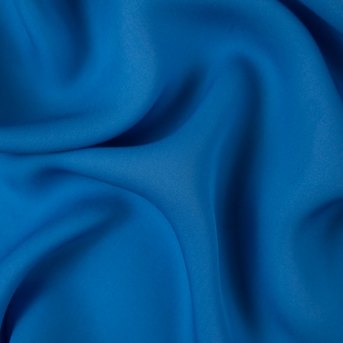 azure blue silk georgette 310106 11