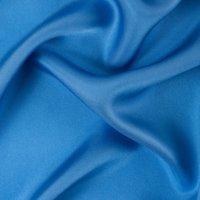 azure blue silk twill 310114 11