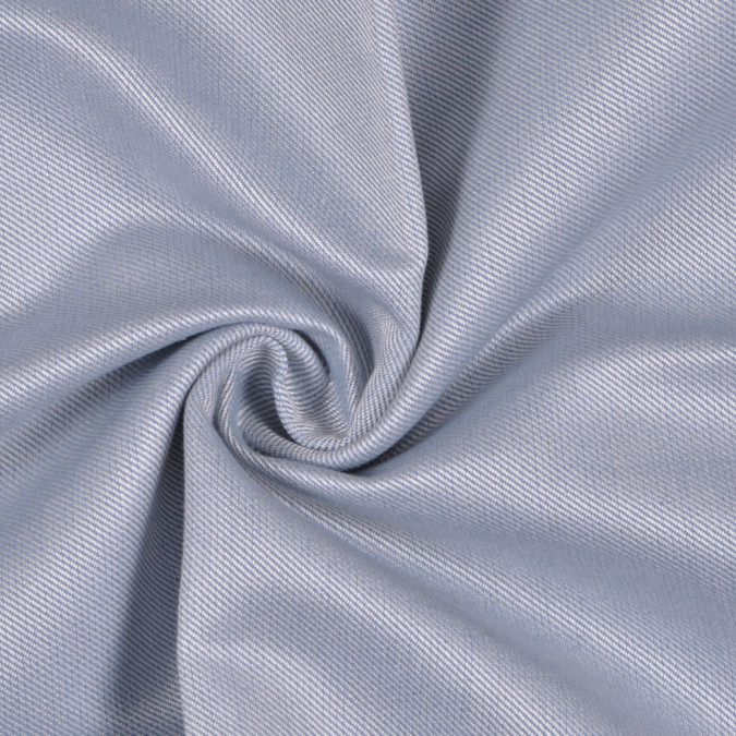 baby blue white solid silk wool fw11642 11