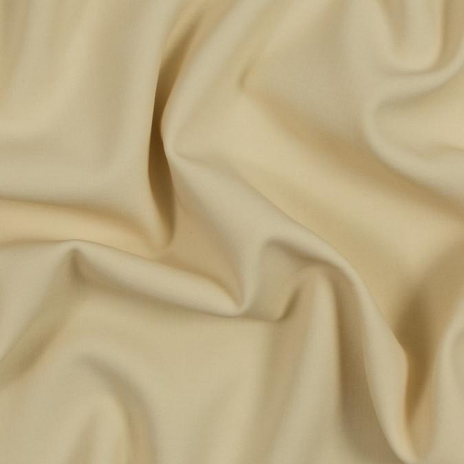 banana cream stretch wool woven 317191 11