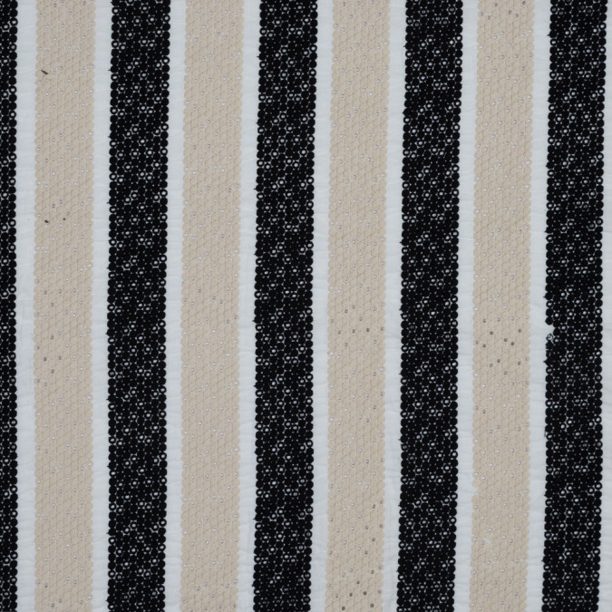 beige and black awning striped embroidered eyelet 318379 11