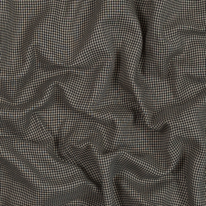 beige and black checkered cotton lawn 318884 11