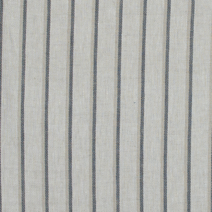 beige and cool gray shadow striped linen twill 317591 11