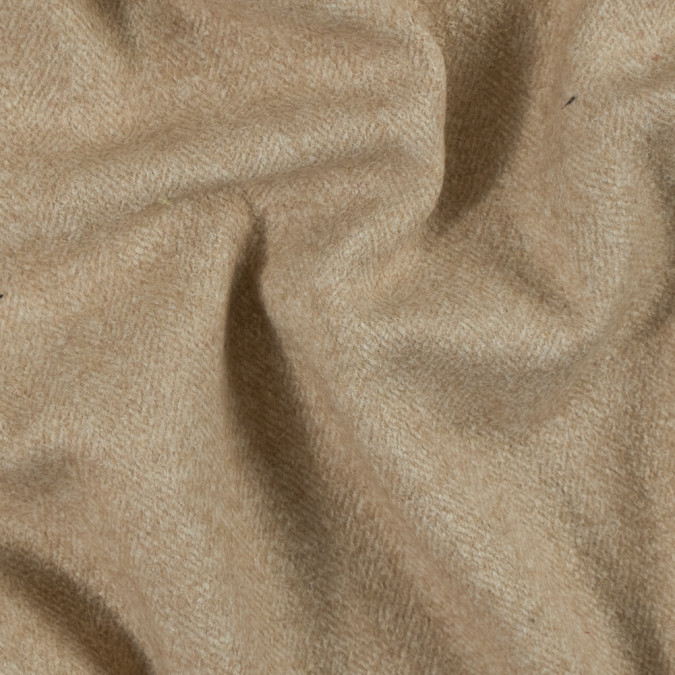 beige and natural herringbone wool coating fw15804 11