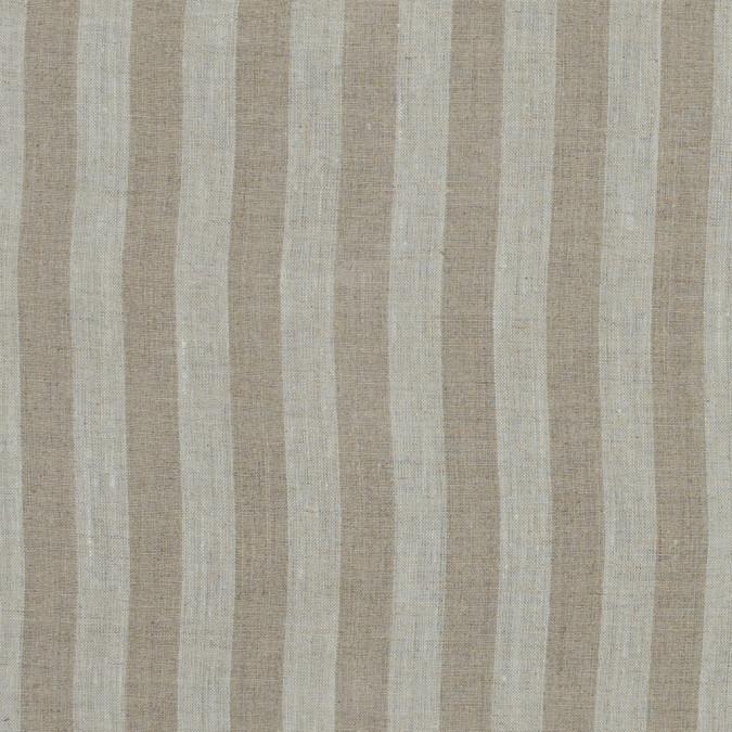 beige awning striped linen woven 317584 11