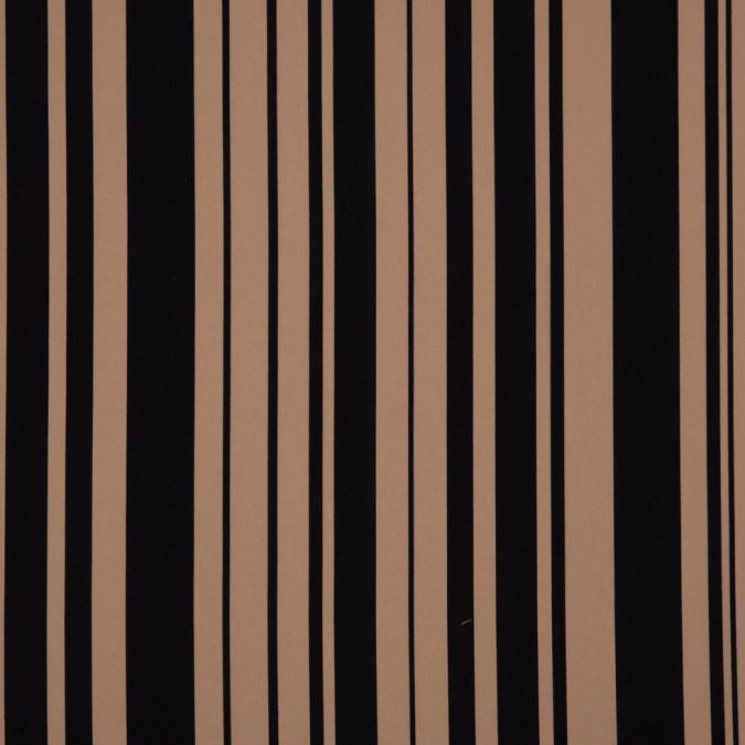 beige black barcode striped printed polyester woven 309890 11