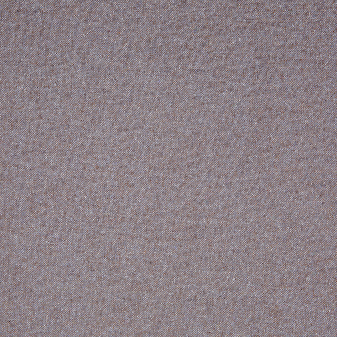 beige blue speckled wool tweed suiting 306546 11