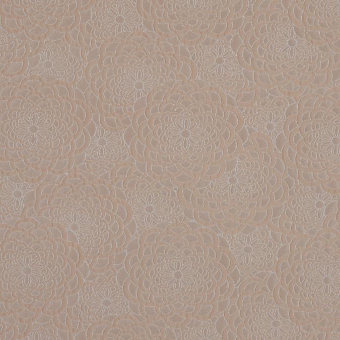beige floral polyester brocade 318339 11