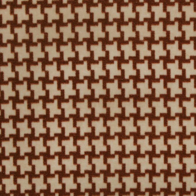 beige houndstooth natty cotton 300716 11
