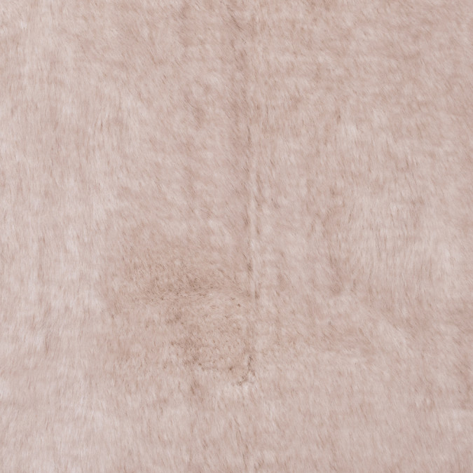 beige stretch faux raccoon fur 312772 11
