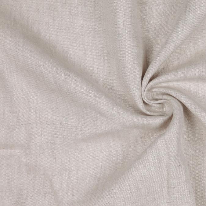 beige woven linen suiting 114296 11