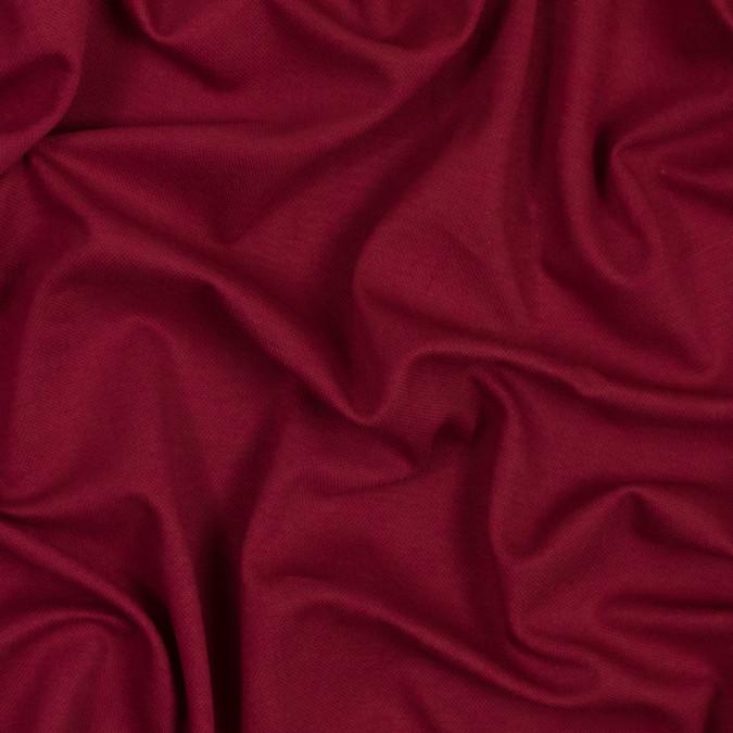 biking red stretch knit pique 314063 11