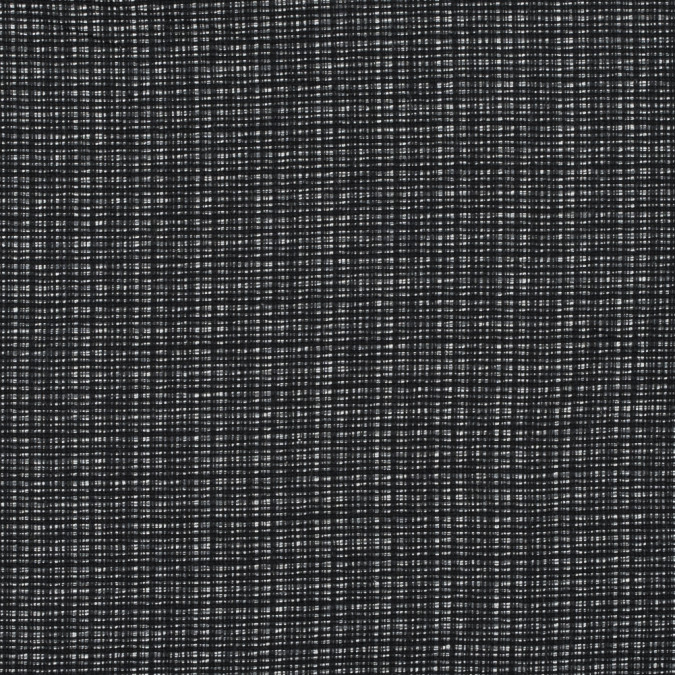 black gray and white cotton tweed 315253 11