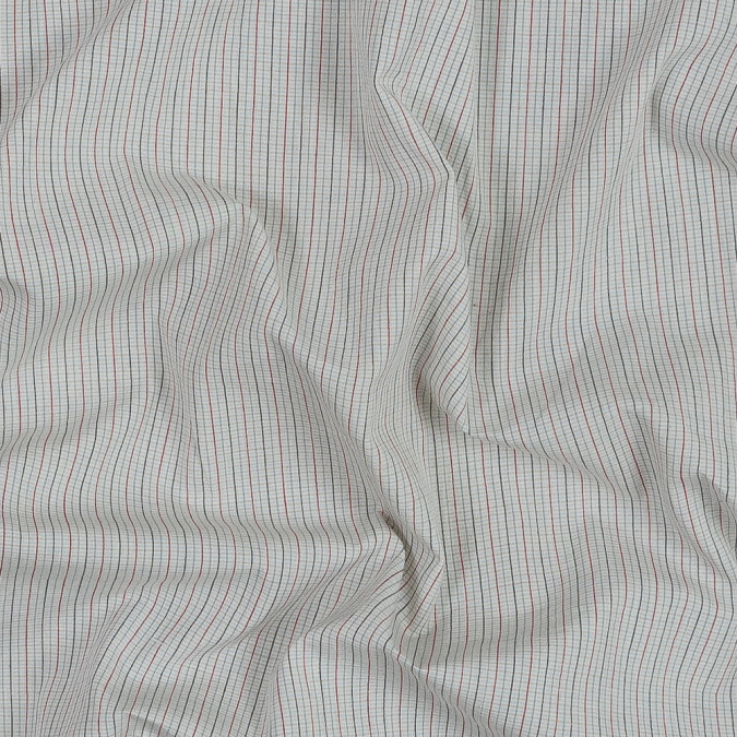 black red beige and blue checkered japanese cotton shirting 318881 11
