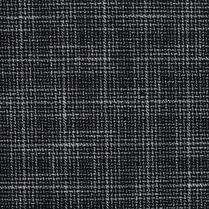 black white and navy blended cotton tweed 314144 11