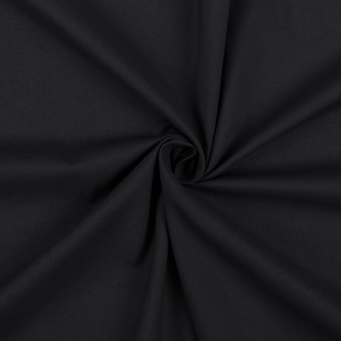 black 100 cotton voile 308028 11