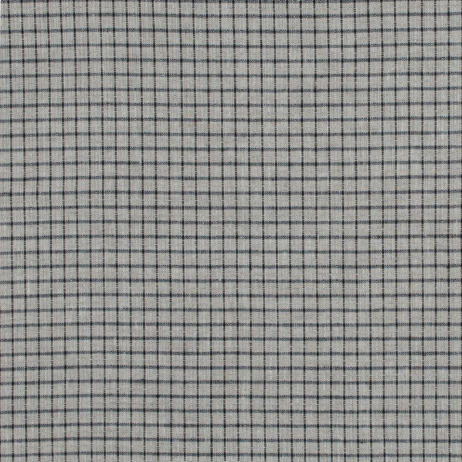 black and beige graph check linen woven 317596 11