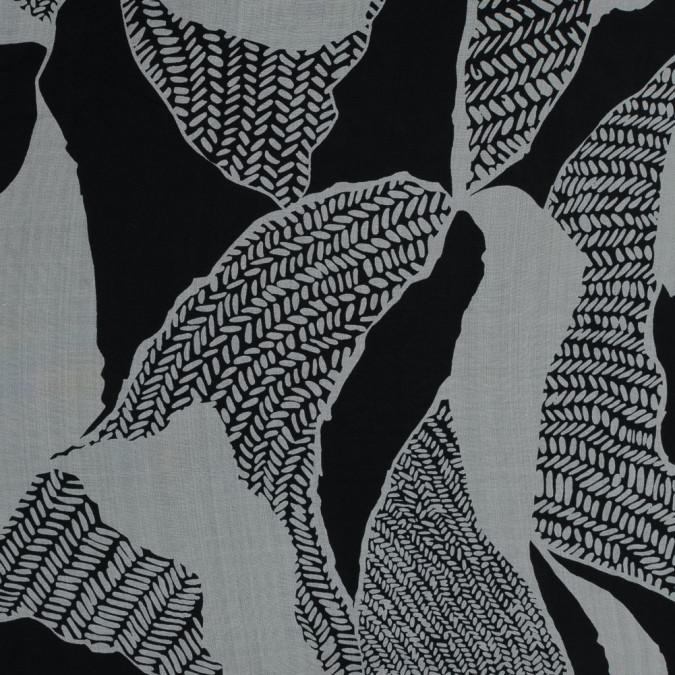 black and fog abstract silk chiffon 315950 11