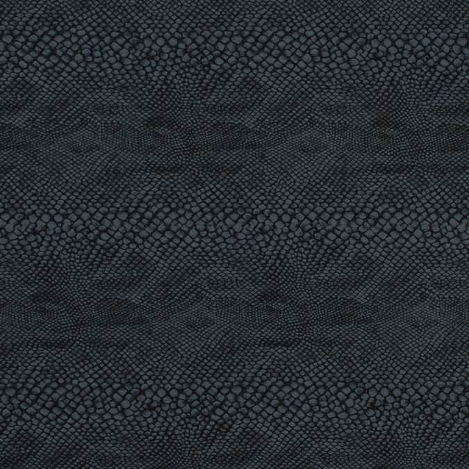black and gray stretch python printed woven 312947 11