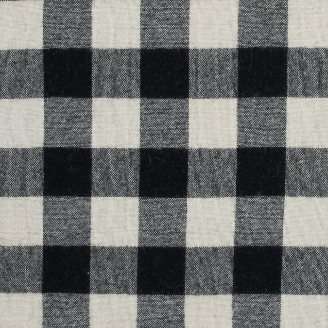 black and ivory buffalo check wool woven 317250 11