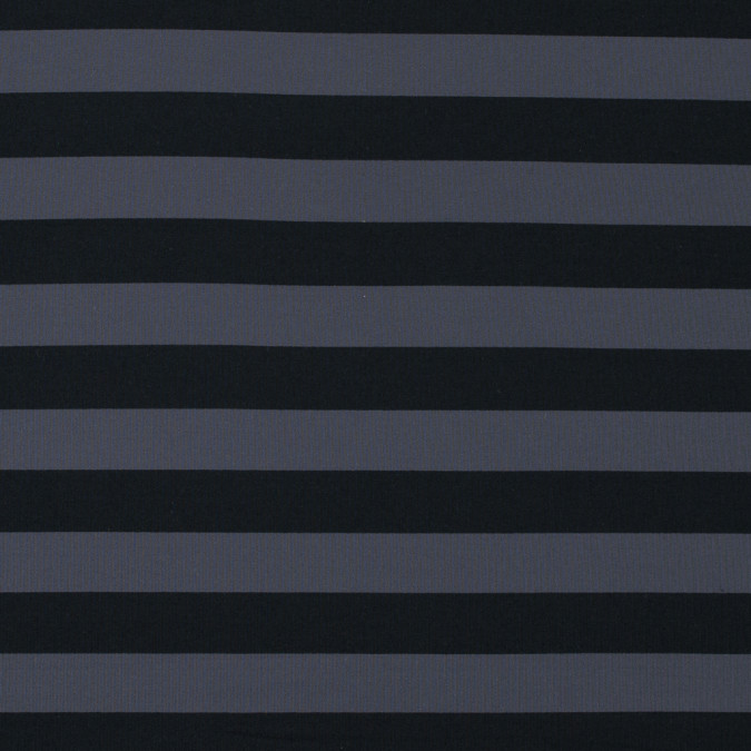black and metal gray awning striped stretch eclon jersey 312558 11