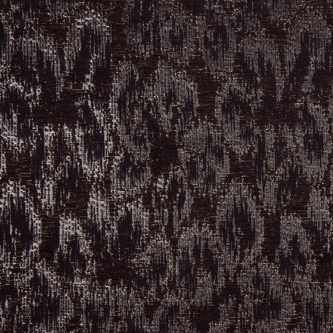 black and metallic gold medium weight elegant brocade 303913 11