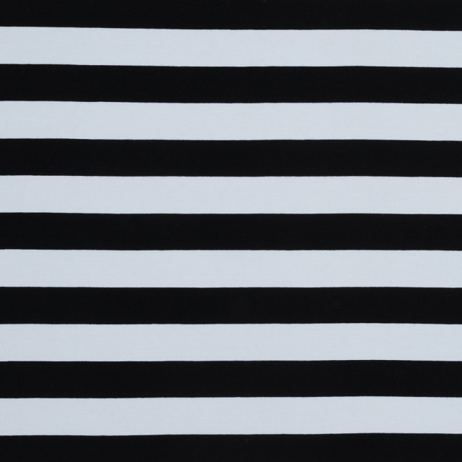 black and white awning striped combed cotton jersey 318126 11