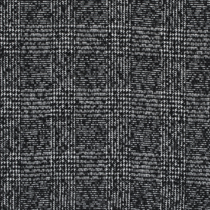 black and white glen plaid wool coating 317888 11