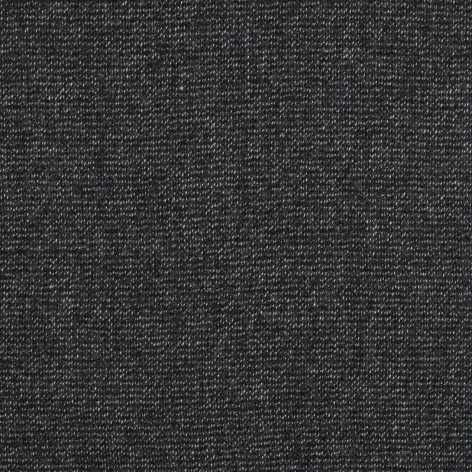 black and white speckled wool tweed 317231 11