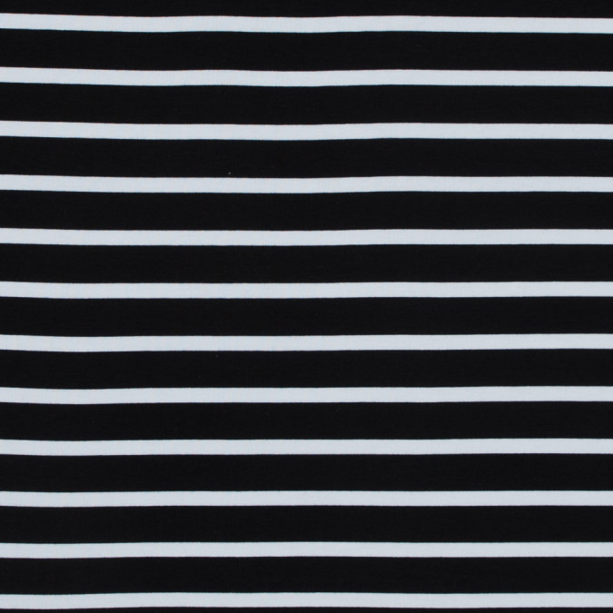 black and white striped bamboo jersey 316128 11