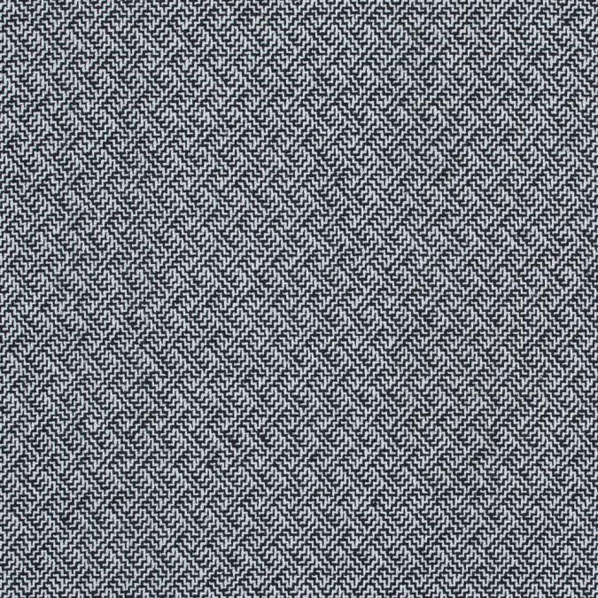black and white zig zag wool coating 317883 11