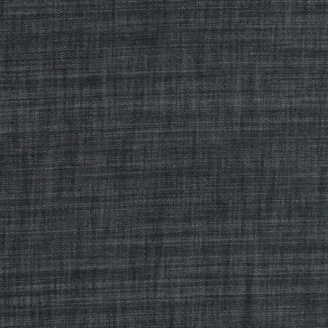 black antiqued stretch cotton denim 313940 11