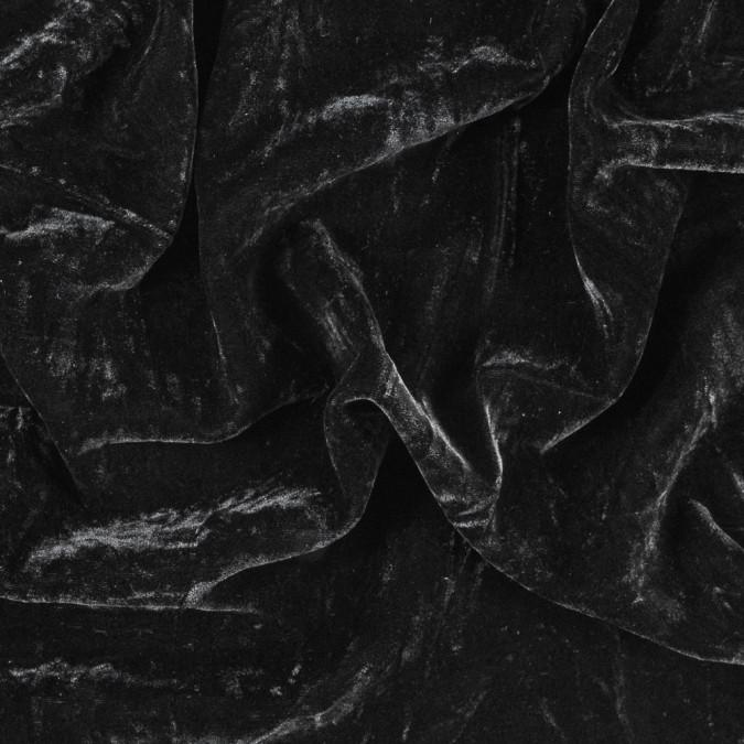 black blended rayon velvet 314992 11