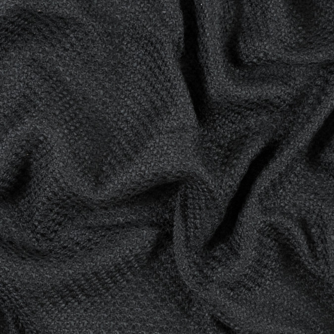 black blended woolen wool woven 315216 11