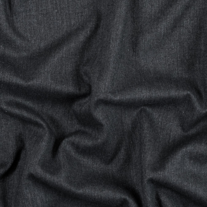 black brushed cotton twill 314134 11