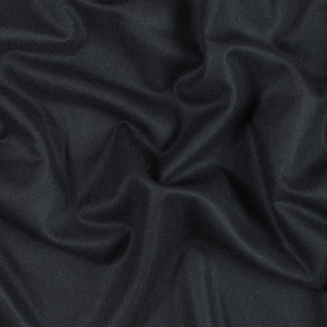 black brushed lightweight wool coating 301625 11