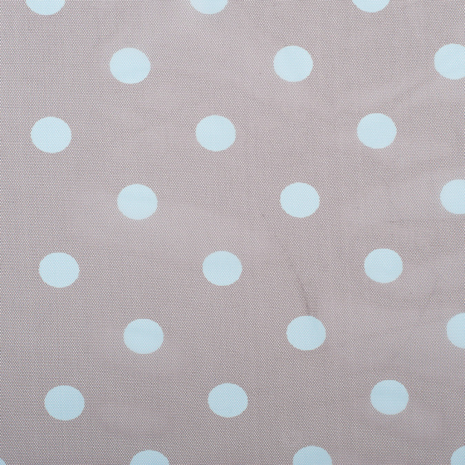 black coffee aqua polka dot poly mesh 308208 11