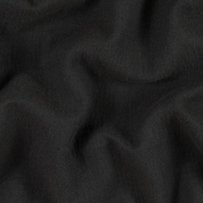 black coffee twill wool double cloth 313722 11